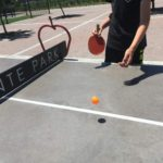 Ping Pong at Del Monte Park, San Jose