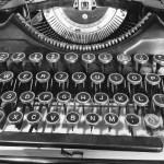 Typewriter at the Los Altos Town Crier