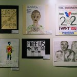 Posters from students of Scotts Valley High School, Santa Cruz