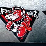 KFJC 89.7FM sticker