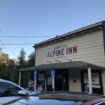 Front of the Alpine Inn, Portola Valley.