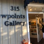 View into Viewpoint Gallery, Los Altos.