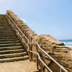Stairs to the Esplanade Beach in Pacifica