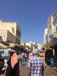 Towards the souk