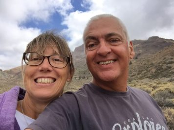 Us - on Mount Tiede