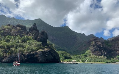 Pacific Crossing and Fatu Hiva