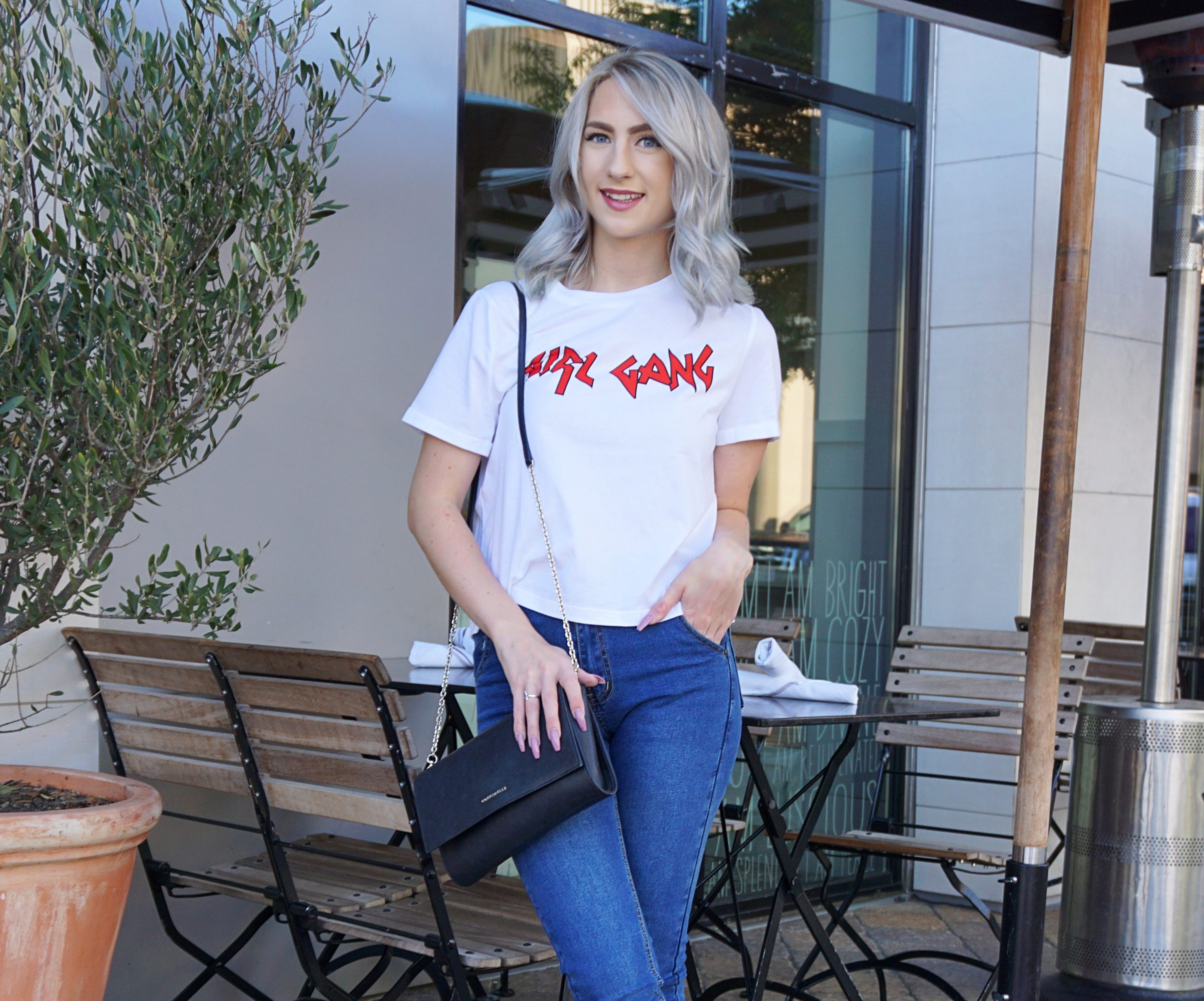 Girl Boss Logo Tee's | Until The Very Trend