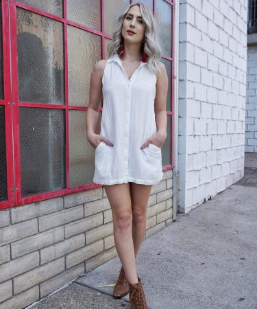 The (Linen) Little White Dress