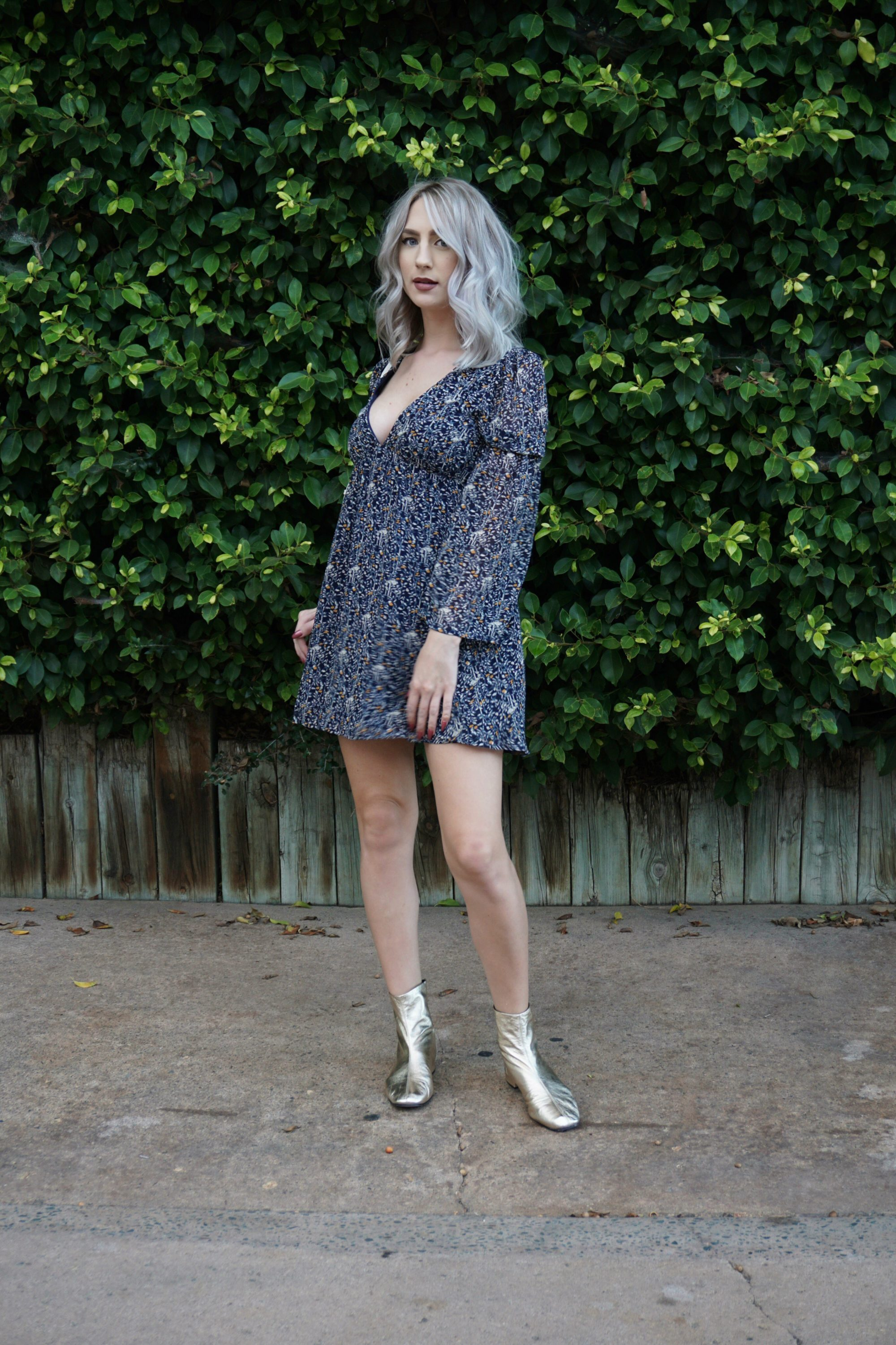 Introducing Fall With Babydoll Dresses & Gold Boots