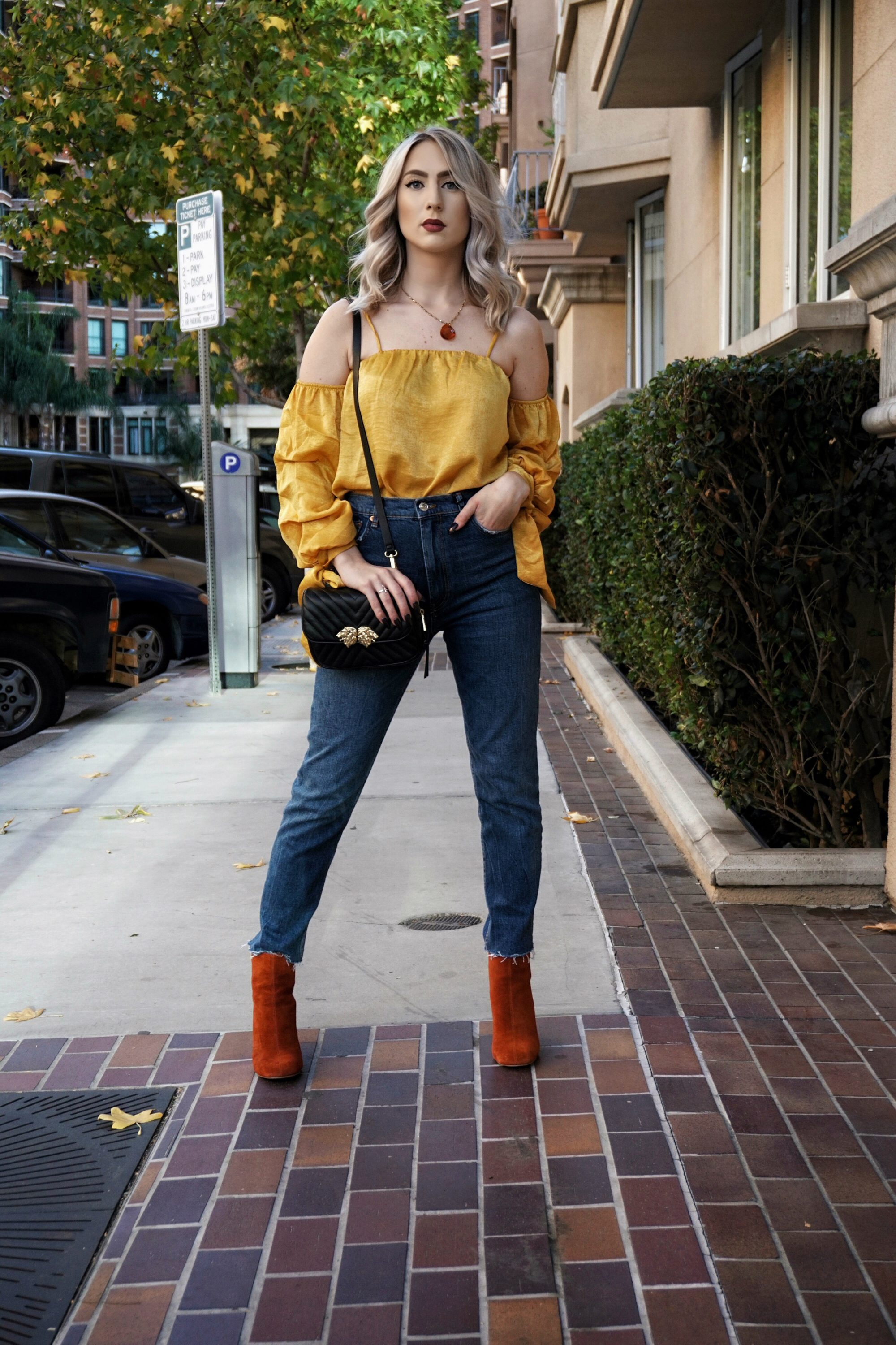 How To Wear Yellow In Fall/ Winter | Until The Very Trend