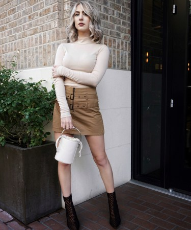 How To Style Monochrome Nude