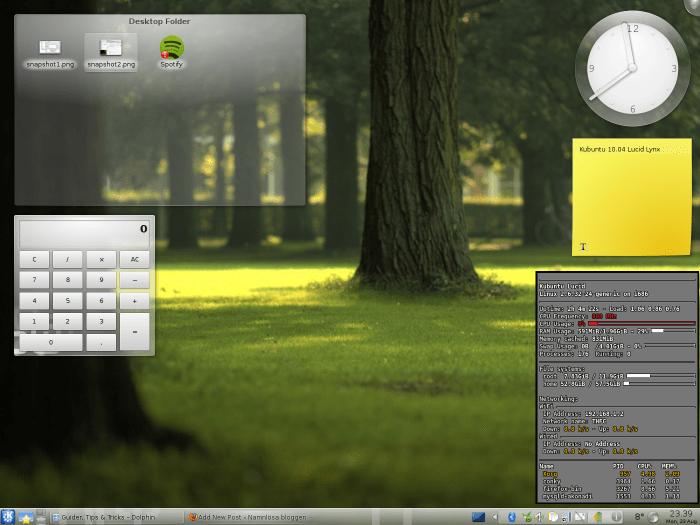 Kubuntu 10.04 Lucid Lynx (2/2)