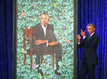 THE OBAMAS' PRESIDENTIAL PORTRAITS UNVEILED | THE UNTITLED ...
