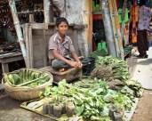 Boy Selling Vegetables Jessore