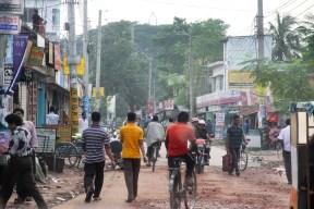 Busy Street Jessore