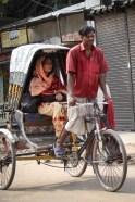 Woman in Rickshaw Jessore
