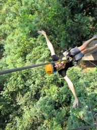 Ziplining. Chiang Mai, Thailand