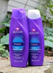 aussie moist shampoo and conditioner