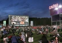 Cinéma en plein air la villette