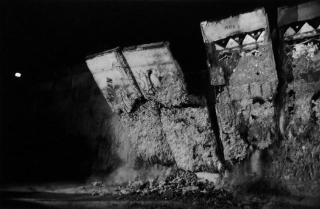 Berlin, Chute du mur, décembre 1989, L'Europe du silence © Stéphane Duroy