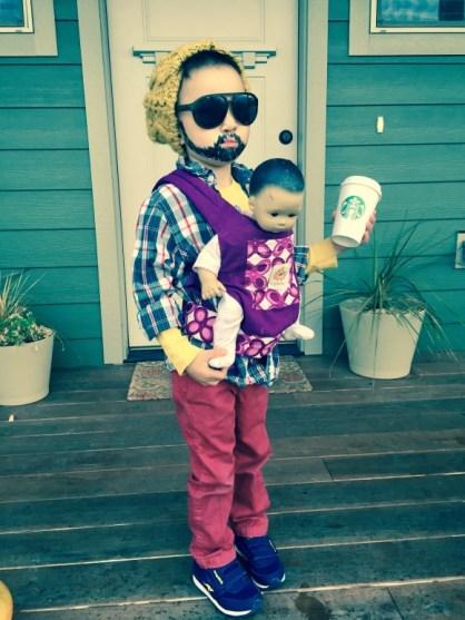 Zero Dollar, Last Minute Halloween Costumes by Unto Adoption