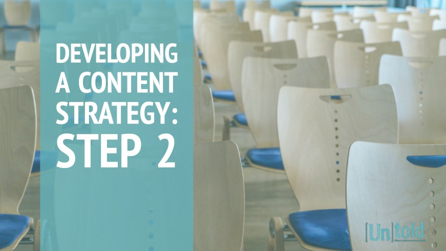 Developing Content Strategy Step 2 Image