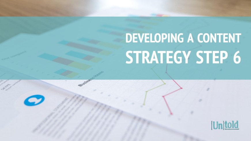 Developing a Content Strategy Step 6 Image