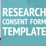 Research Consent Form Template