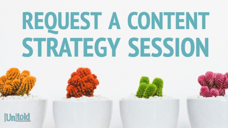 content strategy session services