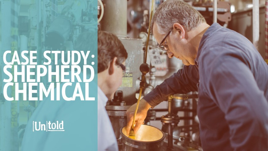 Shepherd Chemical - Technical Writing Case Study