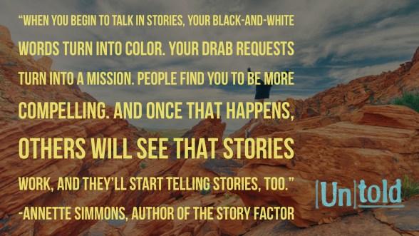 Power of Organizational Storytelling and Story-Sharing