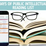 15 Days of Public Intellectualism Reading List