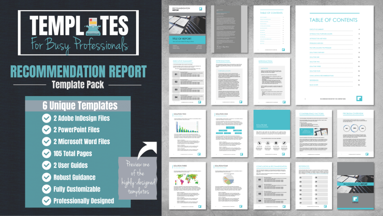 How To Write A Recommendation Report Business Writing