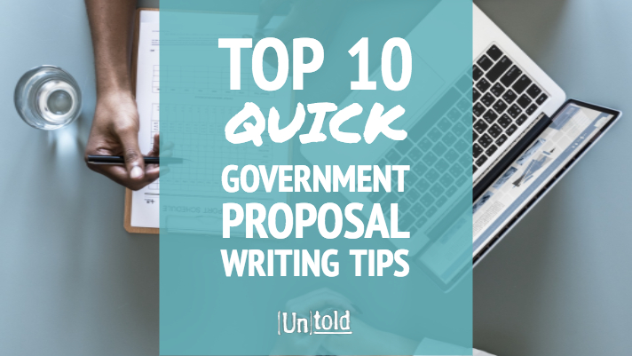 Tips for Writing Government Proposals