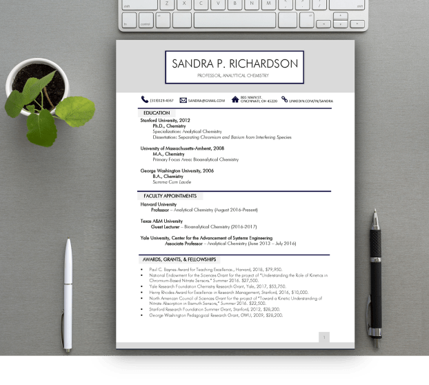 downloadable cv templates 2018