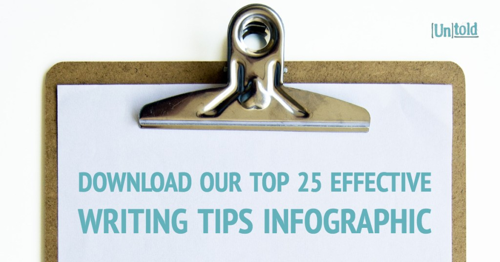 Top 25 Effective Writing Tips Image