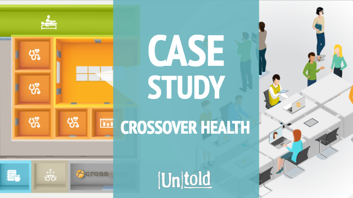 Crossover Health Thought Leadership Content Strategy Case Study
