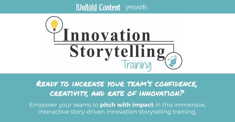 Inno Storytelling Training Ad