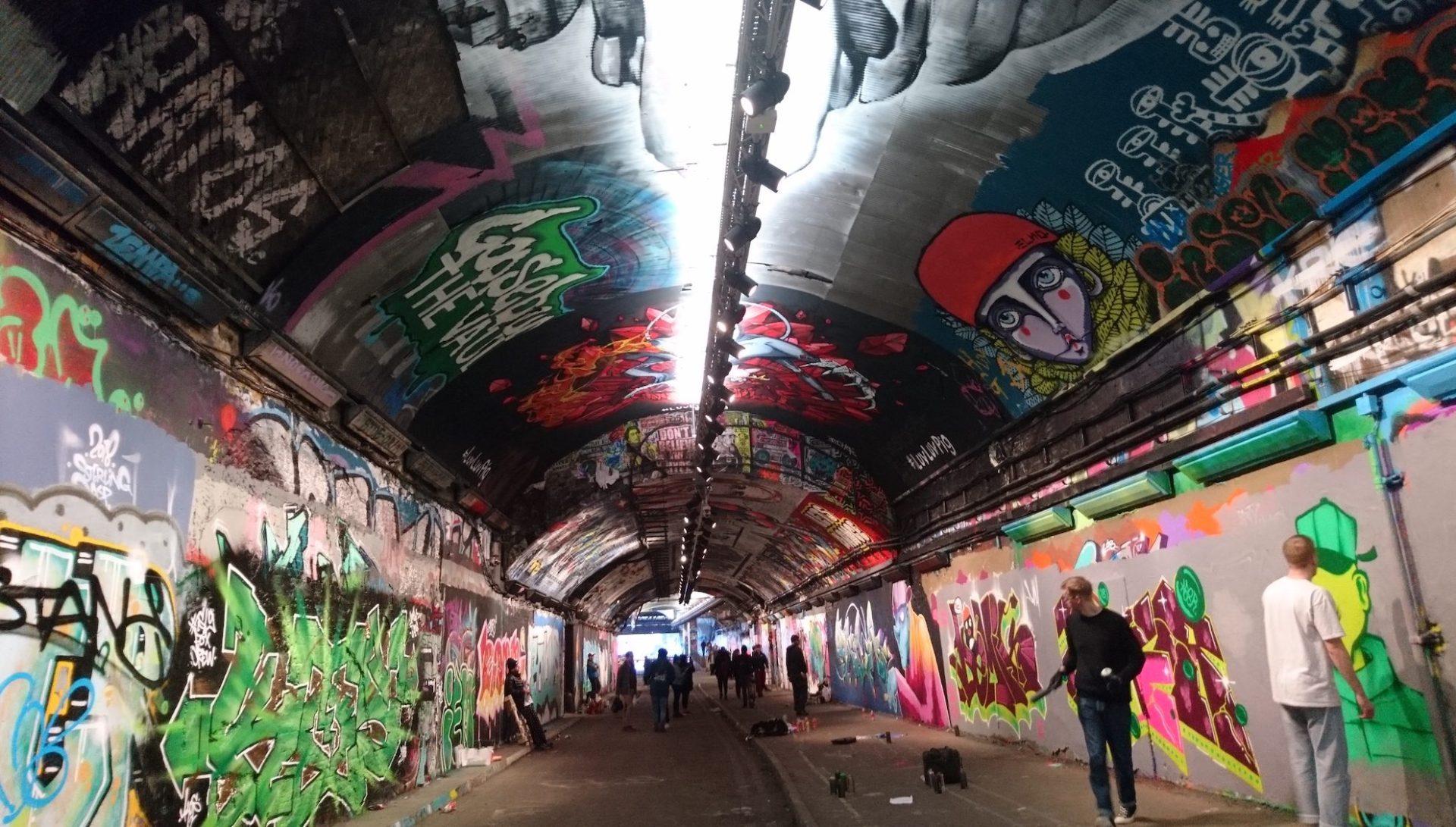 Graffiti at The Vaults, London