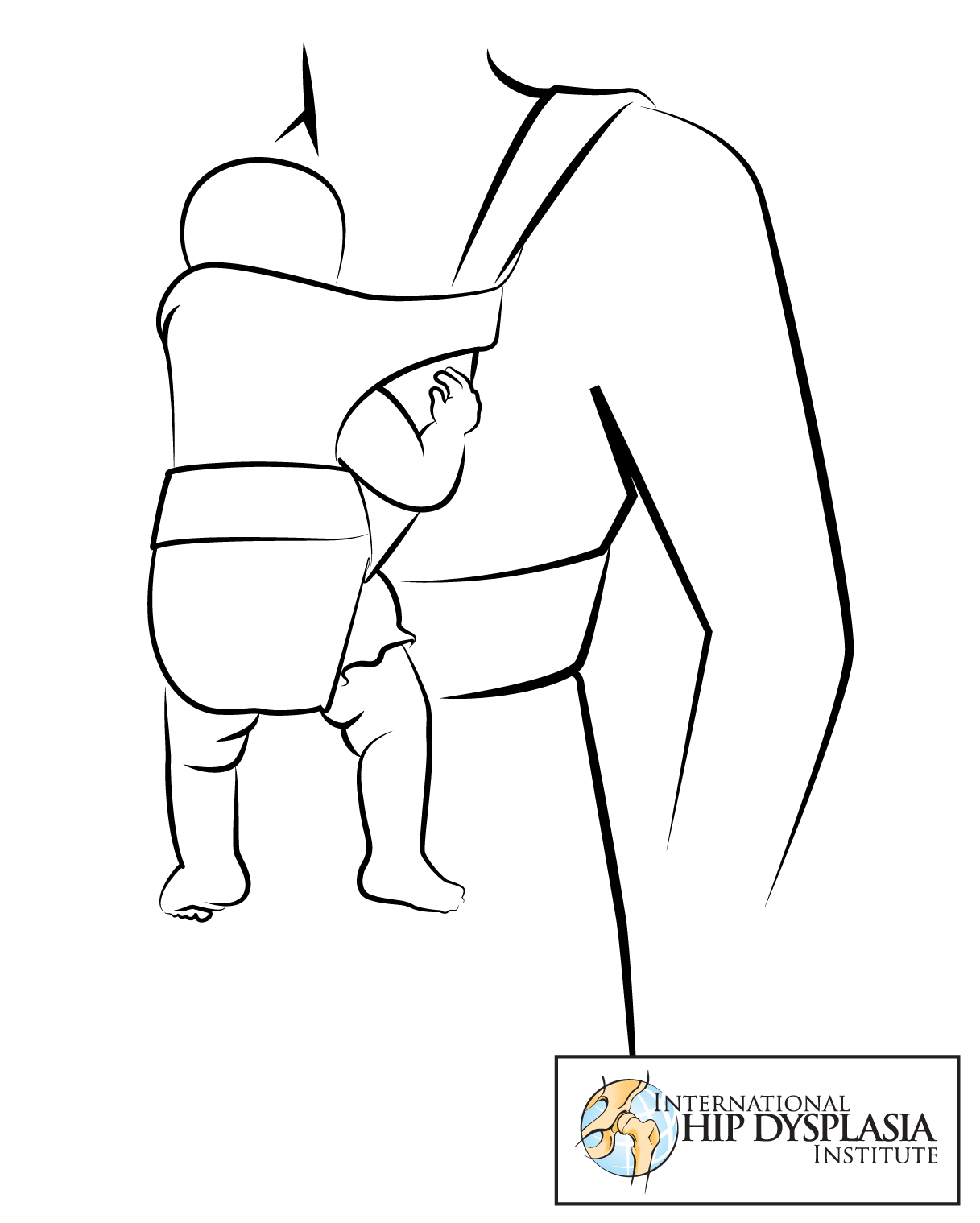 Safe Babywearing An Illustrated Guide To Hip Health