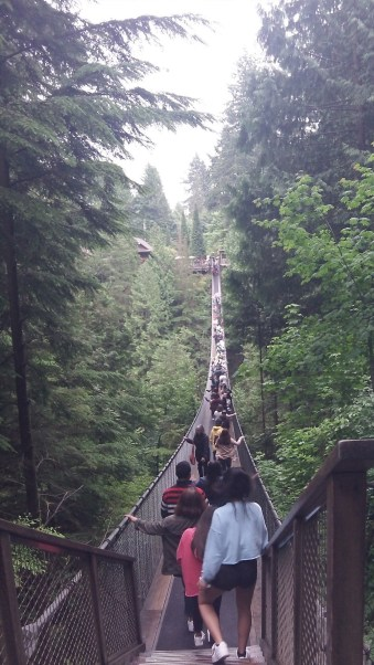 Capilano Bridge can take your breath away or scare you