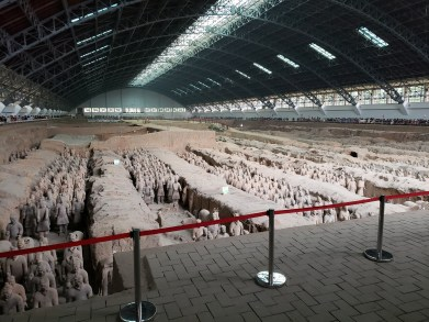 Terracotta Warriors are best site in China