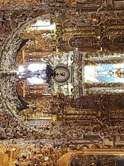 All that glitters is gold in Cholula churches