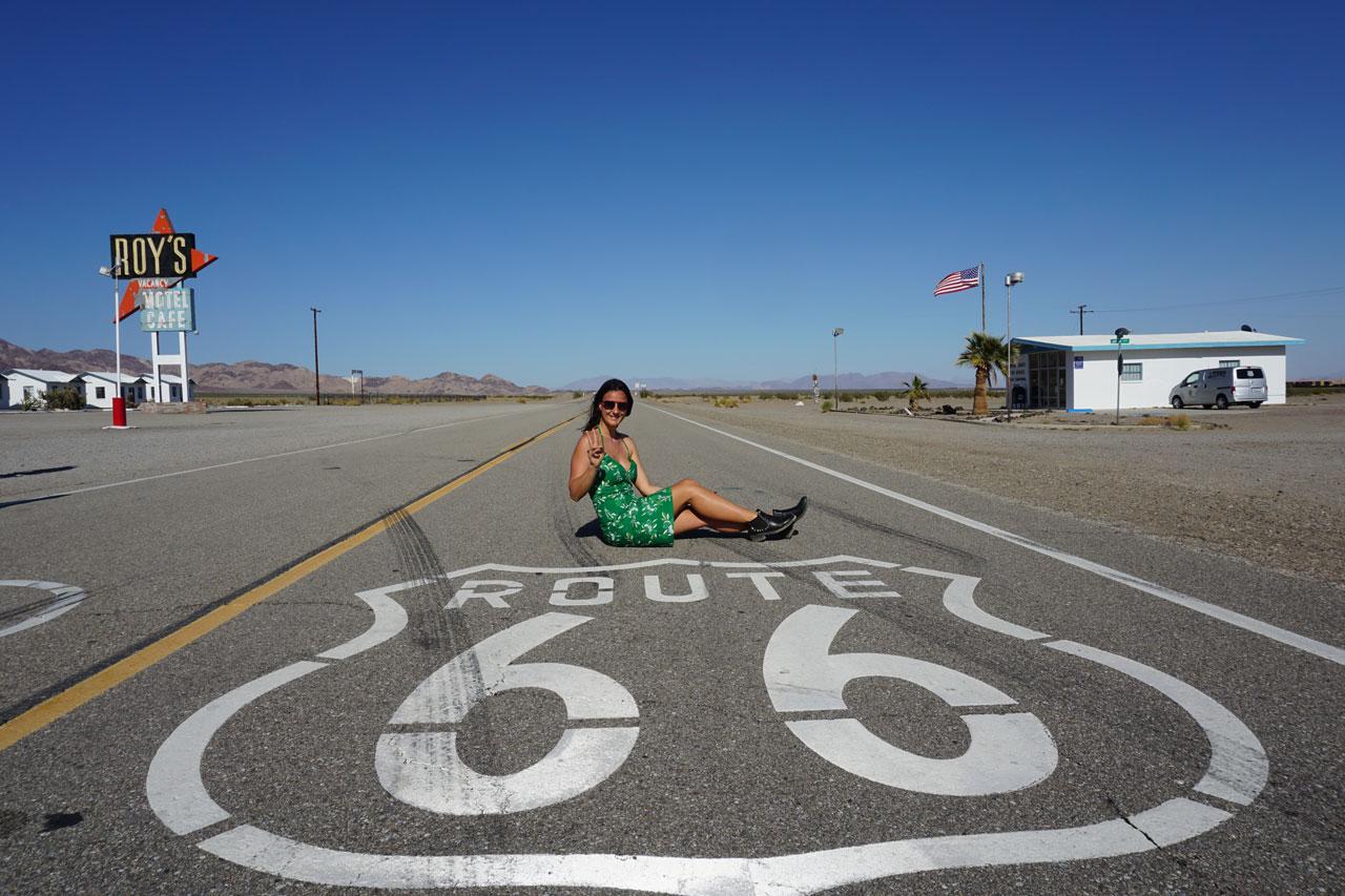 Route 66, Amboy CA