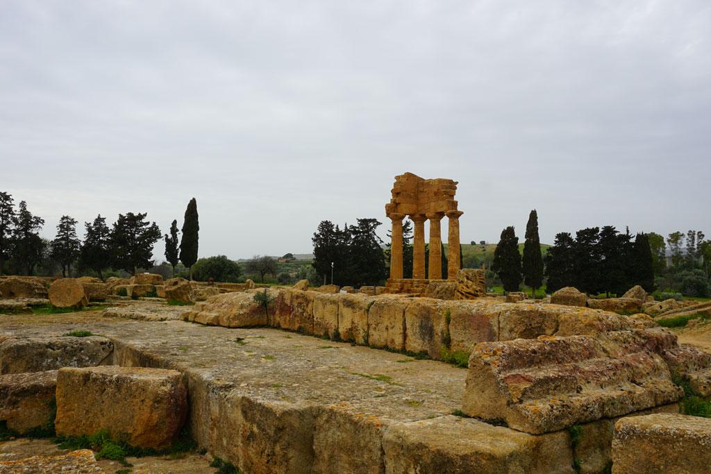 Il Tempio dei Dioscuri, simbolo di Agrigento