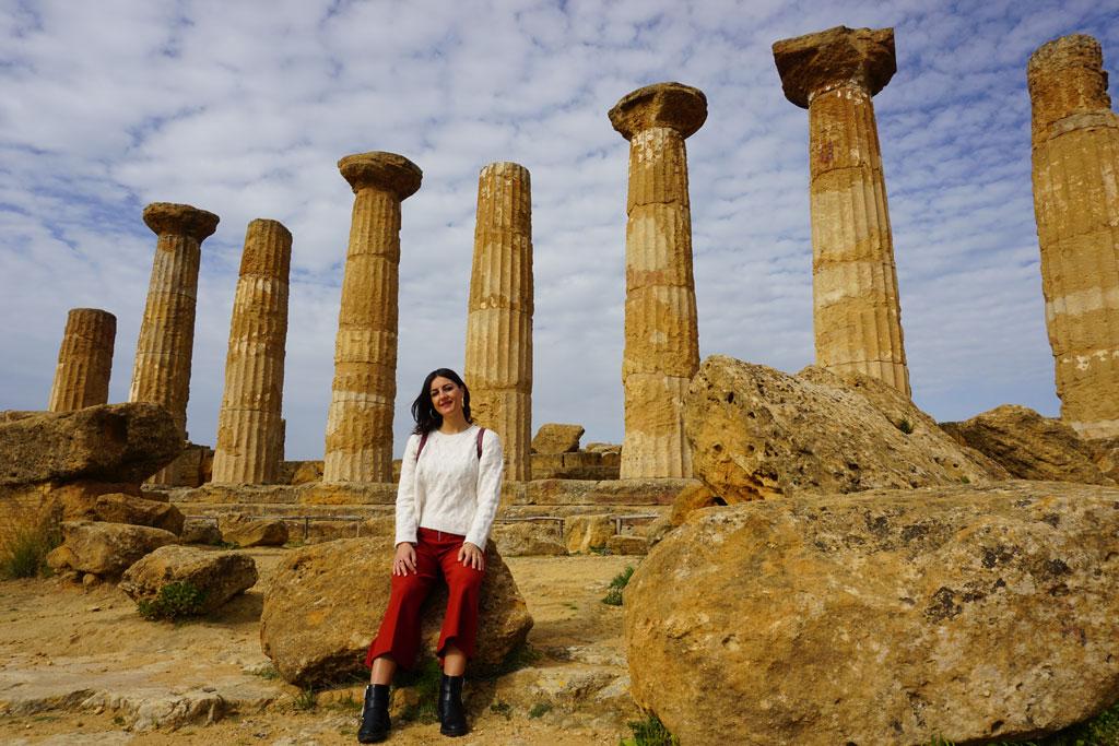 Il Tempio di Eracle di Agrigento