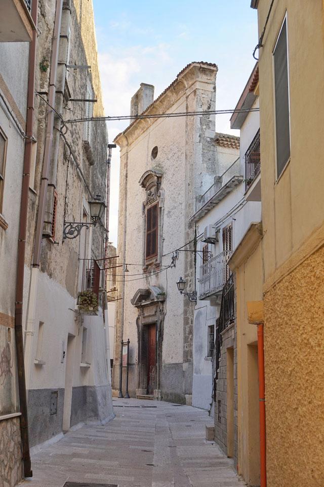 Ischitella del Gargano centro storico