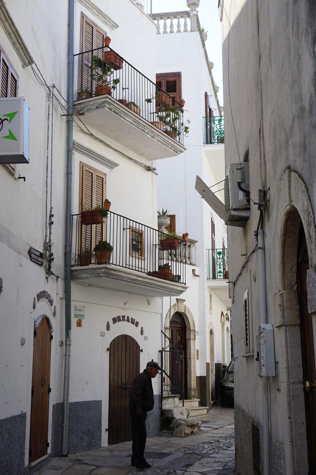 Peschici centro storico