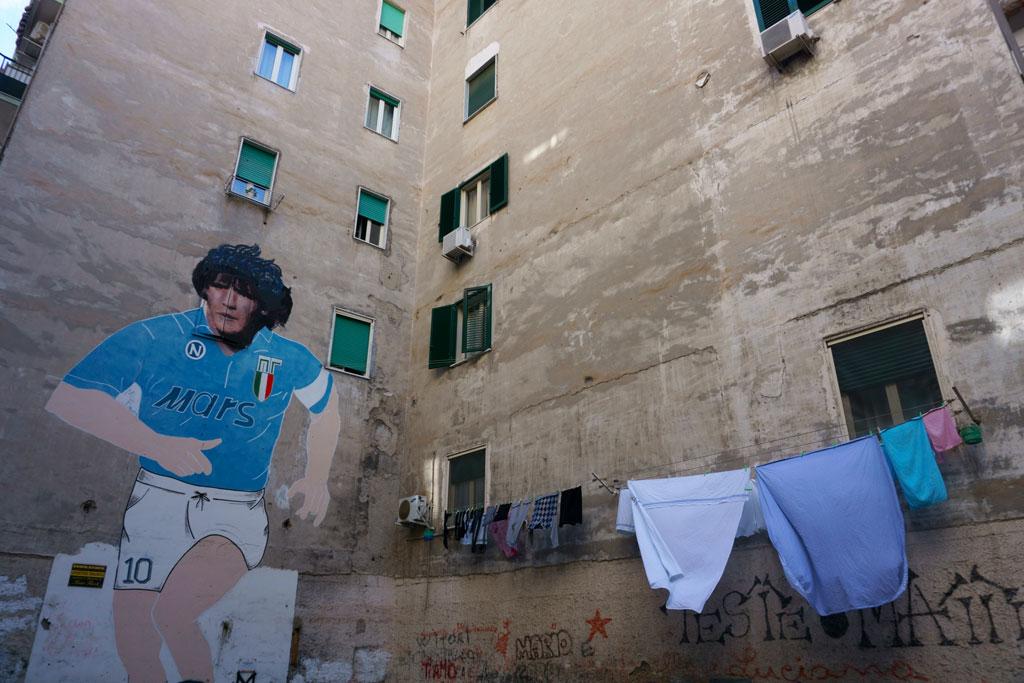 murales Maradona Napoli