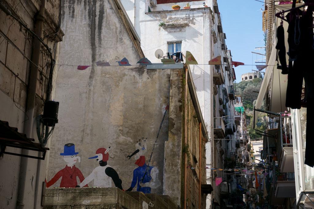 Street art Quartieri Spagnoli Napoli
